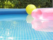 Pool Inflatibles Stock Photography