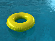 Pool Innertube Stock Image
