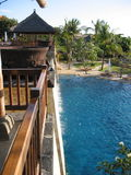 Pool in Jimbaran Bay, Bali Stock Images