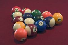 Pool-Kugeln Lizenzfreies Stockfoto