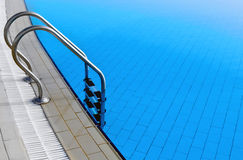 Pool  ladder Royalty Free Stock Image