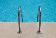 Pool Ladder Stock Image