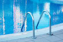 Pool ladder Stock Images