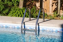 Pool Ladder Royalty Free Stock Photos