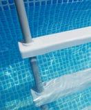 Pool ladder Royalty Free Stock Image