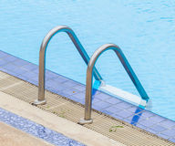 Pool ladder. Royalty Free Stock Images