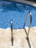 Pool ladders Royalty Free Stock Photo