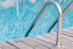 Pool ladders Stock Photography