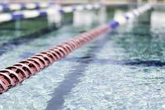 Pool Lane Close-up Stock Photography