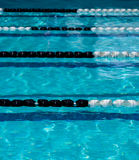 Pool lane ropes Royalty Free Stock Images