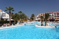 Pool in Las Americas, Tenerife stock images