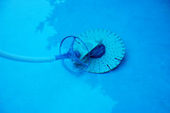 Pool Leaf Cleaner. Image of a swimming pool cleaning device Royalty Free Stock Images