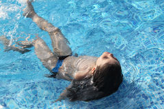 In the pool Royalty Free Stock Photos