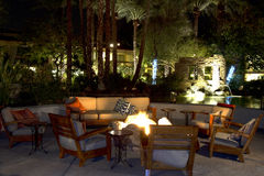 Pool Lounge Furniture Stock Images