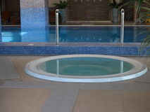 Pool of a luxury spa resort Stock Photography
