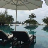 Pool. Malaysia Al Dana Club Langkawi Royalty Free Stock Image