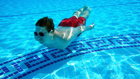 In the pool Royalty Free Stock Images