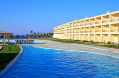 Pool in marsa alam Royalty Free Stock Images