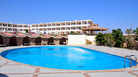 Pool in marsa alam Royalty Free Stock Photo