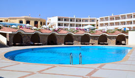 Pool in marsa alam Stock Image
