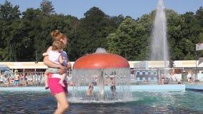 Pool met thermisch water Royalty-vrije Stock Afbeelding