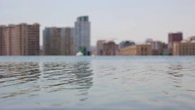 Pool met water stock video