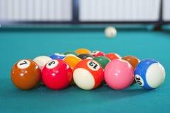 Pool mit acht Kugeln Lizenzfreies Stockfoto
