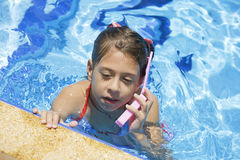 Pool mobile Royalty Free Stock Photos