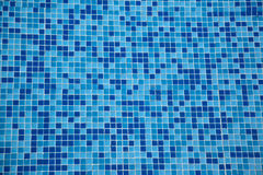 Pool mosaic-tiles Royalty Free Stock Images