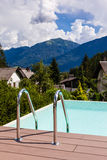 Pool in the mountains Royalty Free Stock Photos