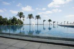 Pool near Alexandria Library Royalty Free Stock Image