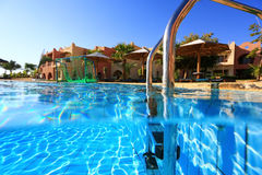 Pool near Hote Royalty Free Stock Images