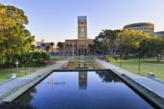 Pool Newcastles Townhall Lizenzfreies Stockfoto
