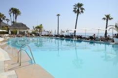 Pool next to the beach Stock Photos