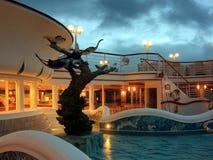 Pool op het cruiseschip Royalty-vrije Stock Fotografie