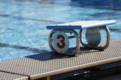 Pool output number 3 Stock Images