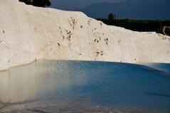 The pool of Pamukkale Royalty Free Stock Photos