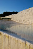 A pool of Pamukkale Royalty Free Stock Photos