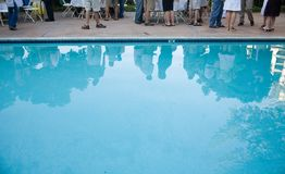 Pool party Royalty Free Stock Images
