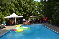 Pool Party Royalty Free Stock Image