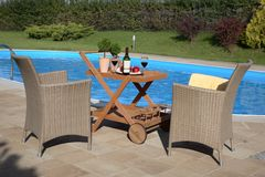 Pool Patio Stock Photos