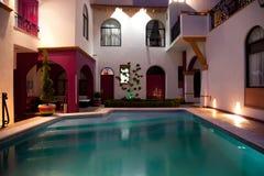 Pool patio II Royalty Free Stock Image