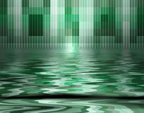 Pool Of Pixels Stock Image