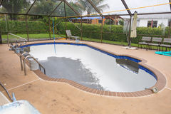 Pool plasterl resurfacing Diamond Brite Stock Images