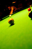 Pool player Royalty Free Stock Image