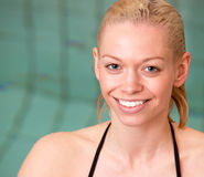 Pool Portrait Royalty Free Stock Images