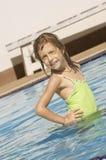 Pool pose Stock Image
