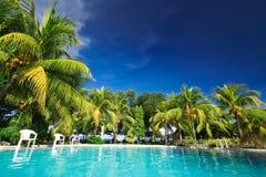 pool private resort Στοκ εικόνα με δικαίωμα ελεύθερης χρήσης