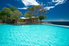 pool private resort στοκ φωτογραφίες