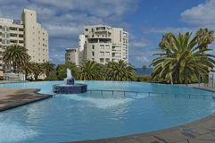 Pool of Protea Hotel President Royalty Free Stock Photo